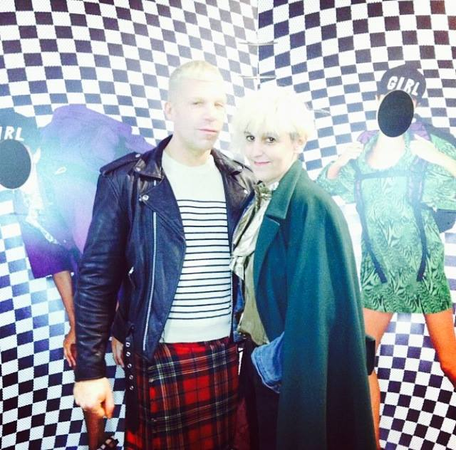 with Hugo Le Blond at Jean-Paul lespagnard xEastpack